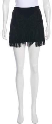 Reformation Fringe Mini Skirt