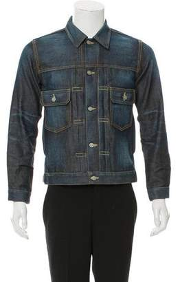 Visvim Dark Wash Denim Jacket