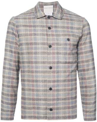 Stephan Schneider slim fit plaid shirt