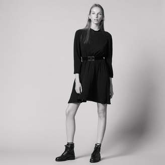 Sandro Short dress with belt at the waist