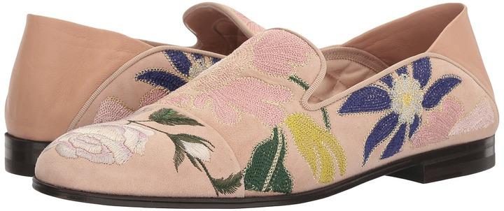 Alexander McQueenAlexander McQueen - Scarpa Pelle S.Cuoio Women's Flat Shoes