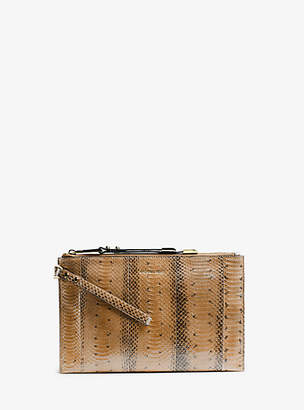Michael Kors Miranda Large Zip Clutch