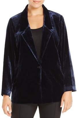 Eileen Fisher Plus Velvet Blazer