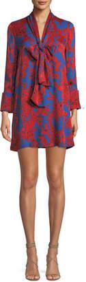 Alice + Olivia Gwenda Paneled Tunic Dress