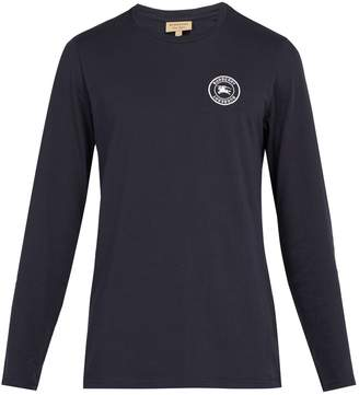 Burberry Jensen long-sleeved cotton T-shirt