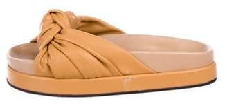 Helmut Lang Knotted Slide Sandals