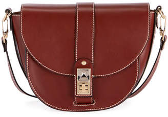 Proenza Schouler PS11 Medium Smooth Leather Saddle Bag