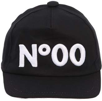Numero 00 Logo Cotton Gabardine Hat