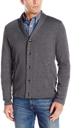 Perry Ellis Men's Shawl Button Front Cardigan