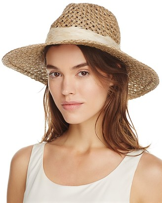 Genie by Eugenia Kim Feather Willa Sun Hat $88 thestylecure.com