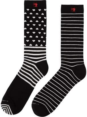Scotch & Soda 2-Pack Patterned Socks