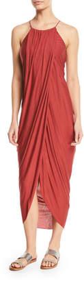 Joie Serlina Draped Sleeveless Maxi Dress