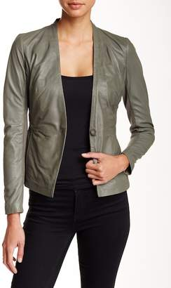 Muu Baa Muubaa Shaula Leather Blazer