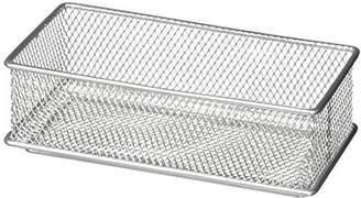 Design Ideas Mesh Drawer Store, Silver, 6 by 9-Inch by