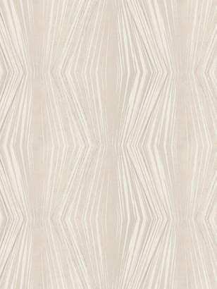 Boutique Vermeil Stripe Cream Wallpaper