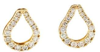 Di Modolo 18K Diamond Fiamma Stud Earrings yellow 18K Diamond Fiamma Stud Earrings