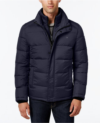 Calvin Klein Men's Big & Tall Classic Quilted Puffer Coat, a Macy's Exclusive Style $275 thestylecure.com
