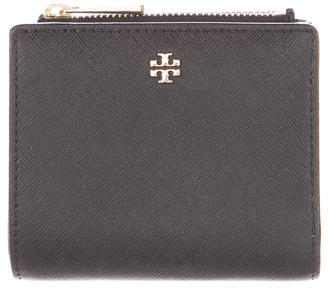 Tory Burch Tory Burch Robinson Leather Compact Wallet