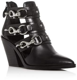 Rebecca Minkoff Women's Seavie Clip-Clasp Pointed-Toe Boots