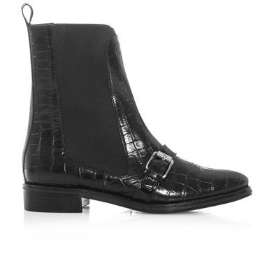 Opening Ceremony Luxor embossed leather Chelsea boots