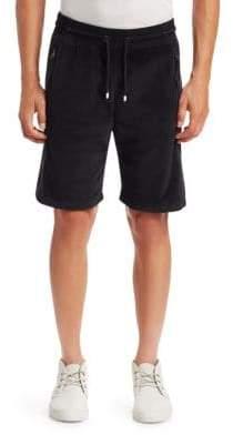 Madison Supply Velvet Drawstring Shorts