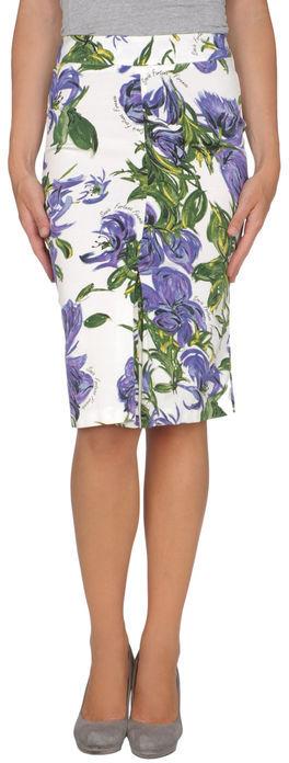 SONIA FORTUNA Knee length skirt