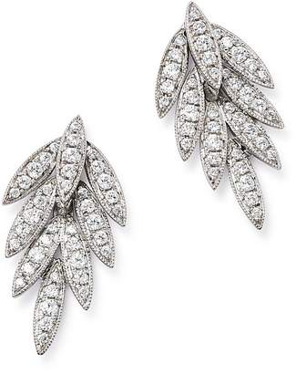 Bloomingdale's Diamond Feather Earrings in 14K White Gold, 0.35 ct. t.w. - 100% Exclusive