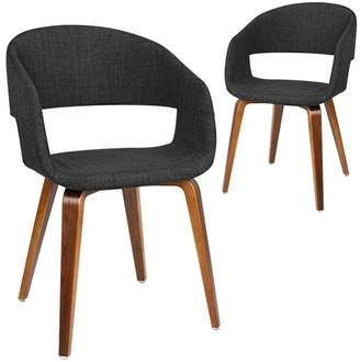 Set of 2 Glebe Upholstered Dining Chairs