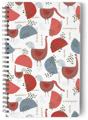 Quirky Roosters Self-Launch Notebook