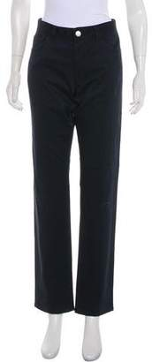 Theory Mid-Rise Straight-Leg Jeans