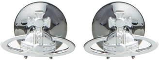 Cufflinks - Silver/Black