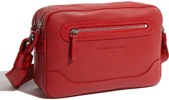 Longchamp Leather Crossbody Bag