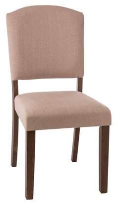 Hillsdale Furniture Hillsdsale Emerson Parson Dining Chair, Brown, Set of 2