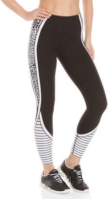 Betsey Johnson Cheetah Stripe Leggings