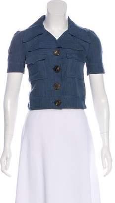 Missoni Linen-Blend Jacket
