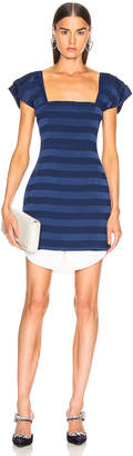 Atoir State Lines Dress in Navy Stripe | FWRD