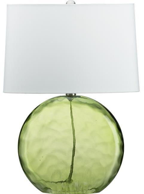 Optic Sea Glass Table Lamp