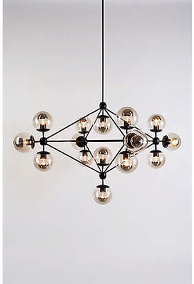 Design Within Reach Modo Chandelier, 4 Sided, 15 Globes