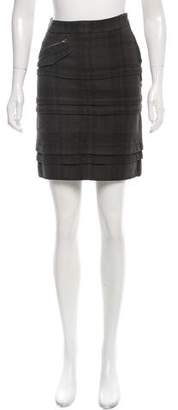 Vena Cava Tiered Mini Skirt