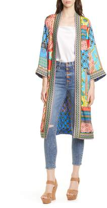 Alice + Olivia Lynn Pattern Mix Jacket