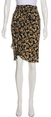 Etoile Isabel Marant Wrap Around Knee-Length Skirt w/ Tags