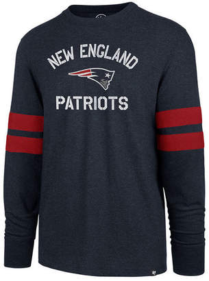 '47 Men's New England Patriots Scramble Long Sleeve Club T-Shirt