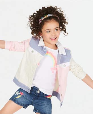 803f2b191 Epic Threads Little Girls Loved Colorblocked Cotton Denim Jacket