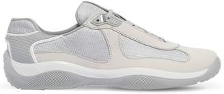 Prada American's Cup Leather Sneakers