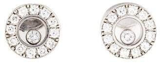 Chopard 18K Happy Diamonds Stud Earrings