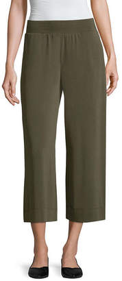Liz Claiborne Pull on Capri Pant - Tall Inseam 21