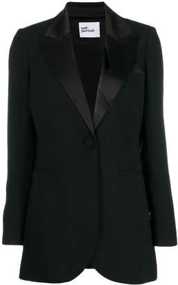 Self-Portrait formal tuxedo blazer