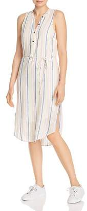 Splendid Striped Midi Dress