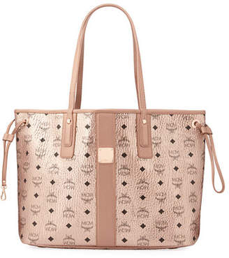 MCM Liz Reversible Medium Visetos Shopper Tote Bag