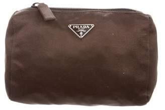 Prada Satin Cosmetic Bag